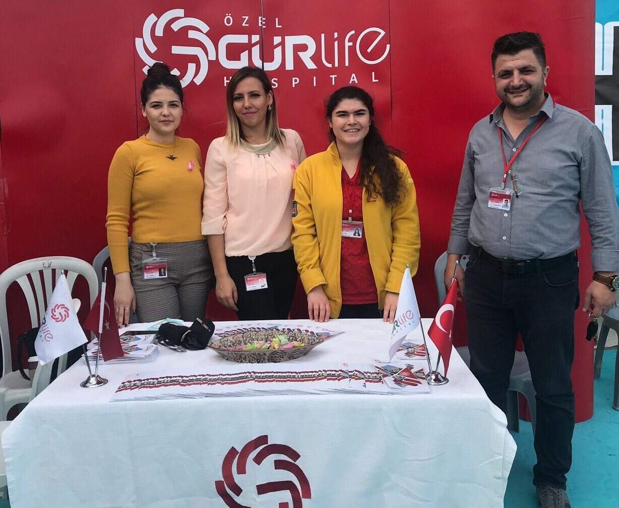 Özel Gürlife Hospital Hastanesi Eskişehir Kitap Fuarı'nda